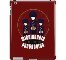 Missionaria Protectiva Mug iPad Case/Skin