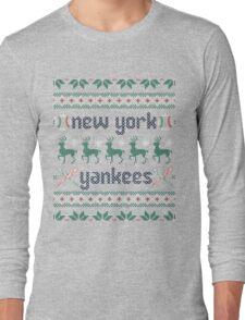 Christmas New York Yankees Long Sleeve T-Shirt