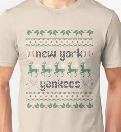 Christmas New York Yankees Unisex T-Shirt