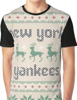 Christmas New York Yankees Graphic T-Shirt