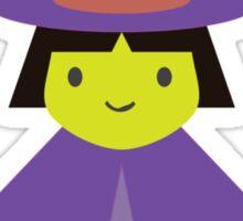 Trick or Treat - Cute Witch Sticker