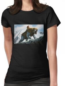 The Golden Compass Painting Womens Fitted T-Shirt