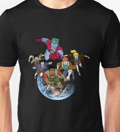 Captain planet team Unisex T-Shirt