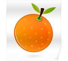New! Stylish designers Orange Poster