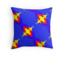 Abstract Pattern 12416 Throw Pillow