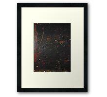 HARD KNOCKS (Damaged)  Framed Print