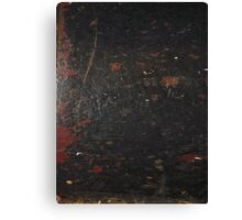 HARD KNOCKS (Damaged)  Canvas Print