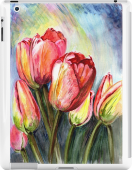 Tulips Pink by Harsh  Malik
