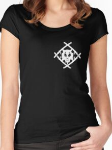 XAVIER WULF HOLLOW SQUAD Women's Fitted Scoop T-Shirt