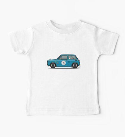 Honda N600 Blue Kei Race Car Baby Tee