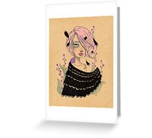 Changeling Girl Greeting Card
