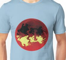 ASTERIX IN THE RED MOON Unisex T-Shirt