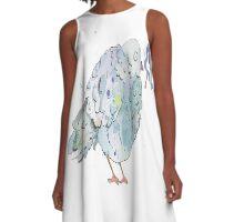 Little trash bird A-Line Dress