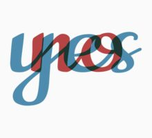 Yes, no, text design, word art Kids Clothes