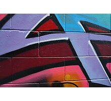 grafitti wall Photographic Print