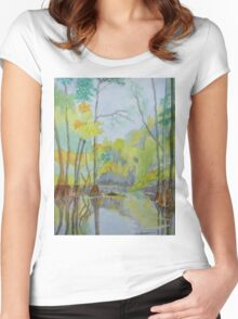 The Econlockhatchee River Women's Fitted Scoop T-Shirt