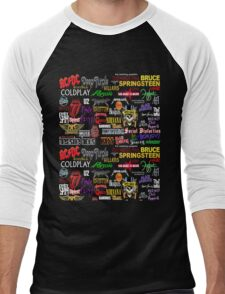 rock band Men's Baseball ¾ T-Shirt