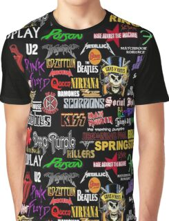 rock band Graphic T-Shirt