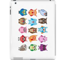 cute owls  iPad Case/Skin