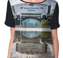 panthers stadium Chiffon Top