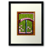 Dispense with the Pleasantries Framed Print