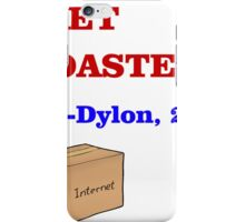 GET ROASTED Dylon Quote ALT iPhone Case/Skin