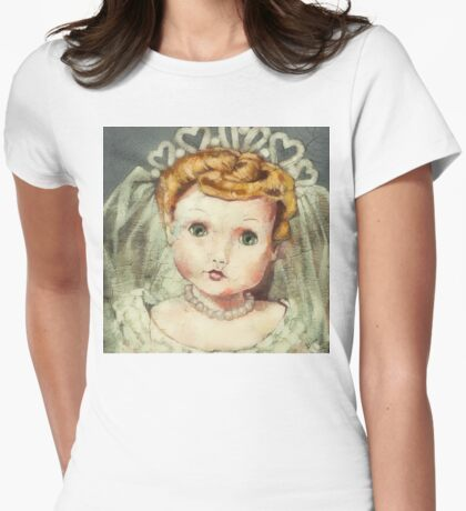 I'm Fine #21 (Bride Doll) Womens Fitted T-Shirt