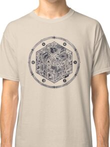 The Folly of Time and Space, Explained Classic T-Shirt