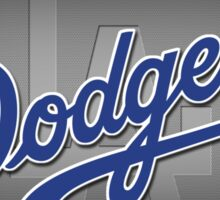 dodger grey Sticker