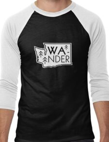 Wander Washington Men's Baseball ¾ T-Shirt