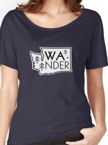 Wander Washington Women's Relaxed Fit T-Shirt