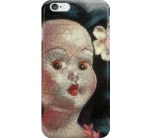 I'm Fine #9, (Hawaiian Doll) iPhone Case/Skin