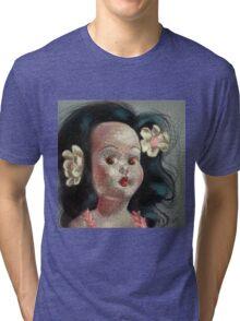 I'm Fine #9, (Hawaiian Doll) Tri-blend T-Shirt