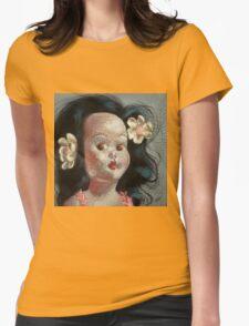 I'm Fine #9, (Hawaiian Doll) Womens Fitted T-Shirt