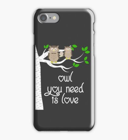 Owls  iPhone Case/Skin