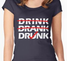 Drink Drank Drunk Women's Fitted Scoop T-Shirt