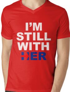 I'm still with her #4 Mens V-Neck T-Shirt