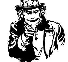 Uncle Sam Joker by monsterdesign