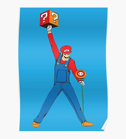 Mario Mercury Poster