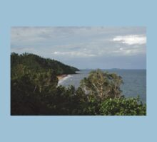 Bingil Bay - From The Clifftop Lookout Baby Tee
