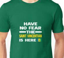Saint Vincentian Here Saint Vincent & Grenadines Flag Unisex T-Shirt