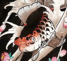 ryukin watercolor Sticker