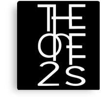 Official One2s Logo  Canvas Print