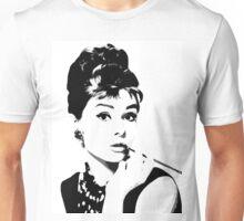 Audrey Hepburn Portrait Art Unisex T-Shirt