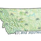 Bike Montana State by surgedesigns