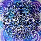 Mandala : Purple Passion by danita clark
