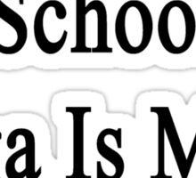 No Time For School Yoga Is More Important  Sticker