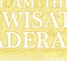 I Am The Kwisatz Haderach Sticker
