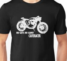 no guts no glory MOTORCYCLE Funny Unisex T-Shirt