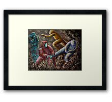 Therapist by Donna Williams Framed Print